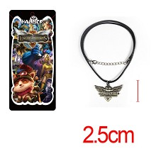 League of Legends anime necklace