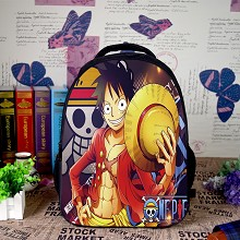 One Piece Luffy anime backpack bag