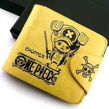 One Piece Chopper anime purse wallet