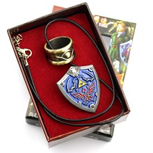 The Legends of Zelda pin+ring a set