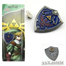 The Legend of Zelda anime pin brooch