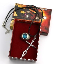 Fate Stay Night anime necklace+ring