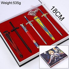 Fate Stay Night anime cos weapons a set
