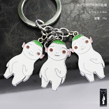 Monster Hunt anime key chain