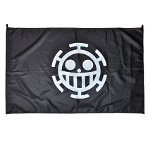 One Piece Law cos flag