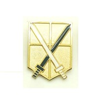 Attack on Titan anime brooch pin
