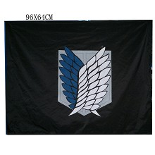 Attack on Titan anime flag
