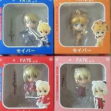 Fate Stay Night anime figures set(4pcs a set)
