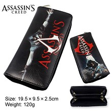 Assassin's Creed pu long wallet/purse