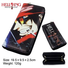 HELLSING anime pu long wallet/purse