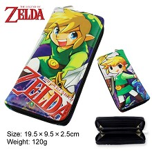The legend of Zelda pu long wallet/purse
