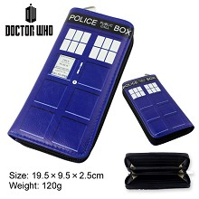 Doctor Who pu long wallet/purse