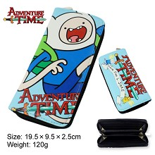 Adventure Time anime pu long wallet/purse
