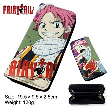 Fairy Tail anime pu long wallet/purse