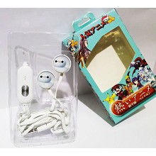 Big hero 6 baymax anime headphone