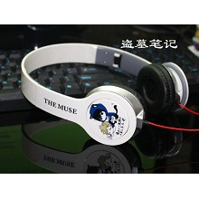 Tomb Notes anime headphone