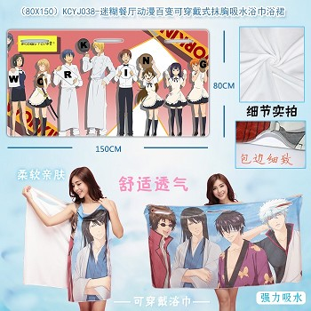 WORKING!! anime bath towel(80X150)KCYJ038