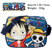 One Piece anime satchel shoulder bag