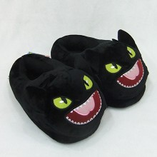 How to Train Your Dragon anime plush slippers shoes a pair