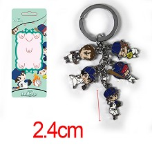 Ace of Diamond anime key chain
