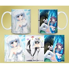 Miss Monochrome anime mug cup BZ1049