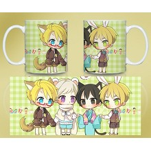 Axis Powers Hetalia Miss anime mug cup BZ1053