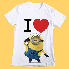 Despicable Me anime micro fiber t-shirt CBTX085