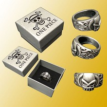 One Piece ACE anime ring