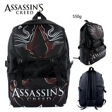 Assassin's Creed anime backpack bag