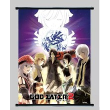 God Eater anime wall scroll