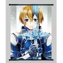 Sword Art Online anime wall scroll