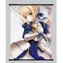 Fate Stay Night anime wall scroll