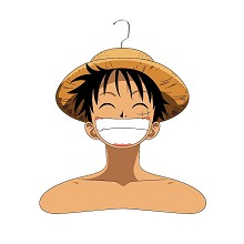 One Piece Luffy PVC hanger clothers tree
