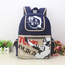 Tomb Note anime backpack bag