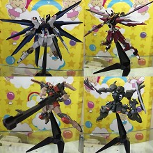 Gundam anime figures set(4pcs a set)