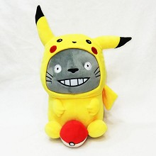 Totoro cos Pikachu plush doll 300MM
