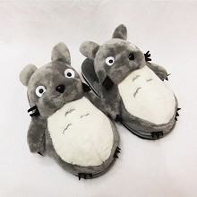 TOTORO anime plush slippers a pair