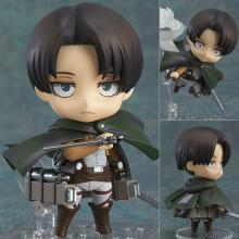 Q style attack on titan Levi figur 390#