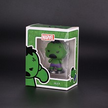 Q version the Avengers Hulk figure