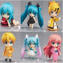 Hatsune Miku anime figures set(6pcs a set)B