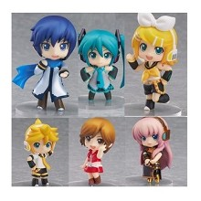 Hatsune Miku anime figures set(6pcs a set)A