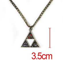 The legend of Zelda anime necklace