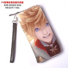 Kingdom of Hearts anime long wallet