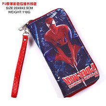 Spider man anime long wallet