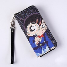 Detective conan anime long wallet