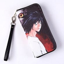 Death Note anime long wallet