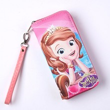 Sofia the First anime long wallet