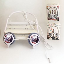 Tokyo ghoul anime volume control headphone