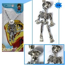 One Piece Luffy anime necklace