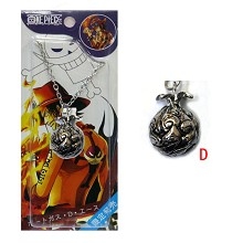 One piece fevil fruit cursed fruit anime necklace